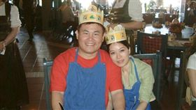 雖然傳出兩人已離婚,但劉駿耀4月份時仍稱陳心為「小寶貝」。(圖/翻攝自臉書)
