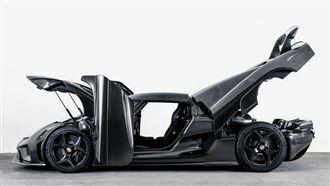 純碳能減碳 瑞典超跑極致的車體科技