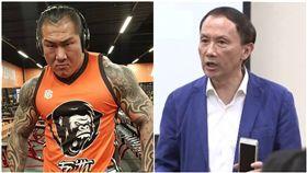 館長分享「誰摔死了李新」影片,要台灣法律給真相。(圖/翻攝自館長臉書、資料照)