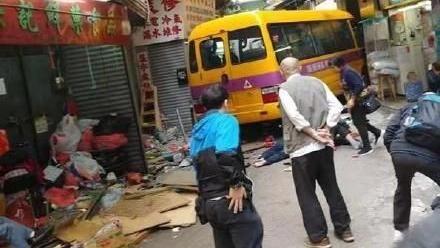香港,校車,車禍,死亡