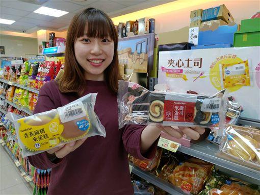 午茶,農糧署,摩斯漢堡,乖乖,樂雅樂,全家便利商店,米製品