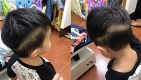 阿嬤迷上陸劇,幫孫子剪男主角髮型,爸媽看了超崩潰。(圖/翻攝爆怨公社)