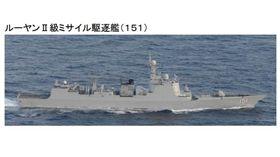 日本自衛隊發現中國海軍軍艦「鄭州號」穿越宮古海峽。(圖/翻攝自日本自衛隊統合幕僚監部)