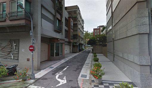 台北,跳樓,中山,情侶。翻攝自GoogleMap
