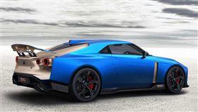GT-R50第二款藍色混金版。(圖/翻攝網站)