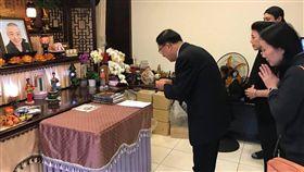 陳水扁,安迪,食道癌,致祭(圖/翻攝自陳水扁新勇哥物語臉書)