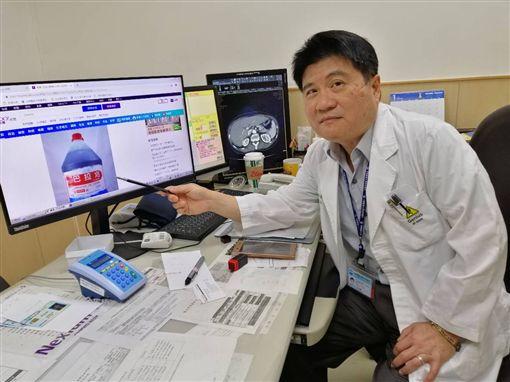 中國醫大附設醫院毒物科主任洪東榮/院方提供
