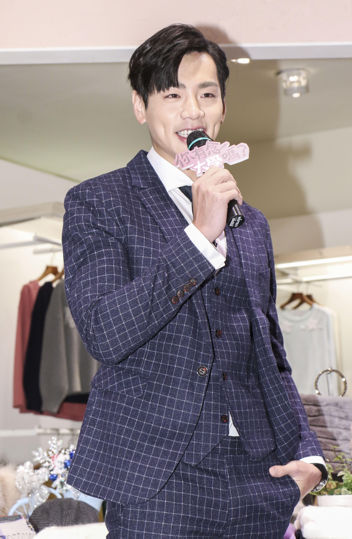 台視、三立偶像劇「你有念大學嗎?」男主角禾浩辰。(記者林士傑/攝影)