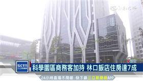 科學園區商務客加持 林口飯店住房達7成