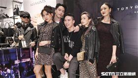 英國時尚品牌AllSaints音樂派對, 眾星雲集一同出席參加。(記者林士傑/攝影)