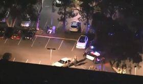 美國加州蒙洛市臉書總部遭炸彈威脅/翻攝NBC