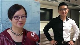 誰摔死了李新,羅淑蕾,童仲彥,負責,台北市(合成照/左資料照 右翻攝臉書 )