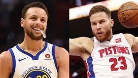 柯瑞不信登月 幹籃哥跟風「開嘲諷」 NBA,金州勇士,Stephen Curry,登月,Blake Griffin 翻攝自推特