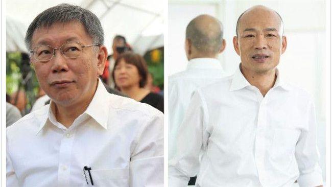 「柯韓配」選總統民調7成4 韓國瑜笑回:考試很少60分