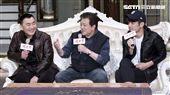 三立八點全新台劇「炮仔聲」主演徐亨、林在培、陳志強。(記者林士傑/攝影)
