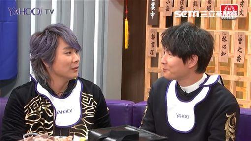 5566孫協志、王仁甫、許孟哲上Yahoo TV《佼心食堂》圖/Yahoo提供