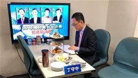 丁守中,台北市長,退出政壇,驗票,柯文哲(圖/翻攝自丁守中粉絲團臉書)