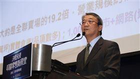 全聯執行長謝健南分享「實體電商」的經營理念。