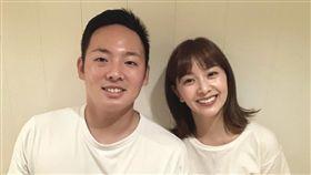松井裕樹與女星石橋杏奈結婚。(圖/翻攝自推特)