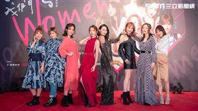 周蕙率領六位「女聲」舉行演唱會。(圖/寬宏藝術、華研國際提供)
