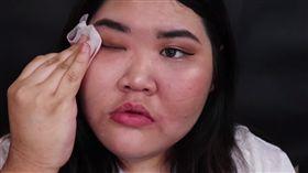 (圖/翻攝自YouTube)韓國,美妝,卸妝,素顏,死亡威脅