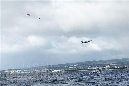 美國,戰鬥機軍演時墜機(圖/翻攝自推特)