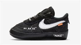 OFF-White x Nike Air Force 1童鞋(圖/翻攝網路)