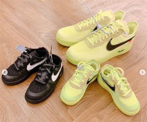 OFF-White x Nike Air Force 1(圖/翻攝IG)