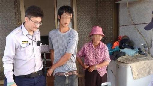 高雄,啃老,瓦斯,自殺,祖母,毒品(圖/翻攝畫面)
