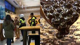 奧客要求咖啡加珍珠,遭拒絕後直接報警處理。(圖/翻攝自爆料公社)