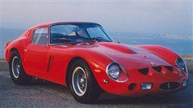 法拉利250 GTO古董賽車。(圖/翻攝自@ FBOODTS推特)