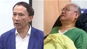 導演范可欽乘摔傷送醫。(組合圖/資料照、記者呂品逸拍攝)