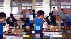 台南某高中網傳校園霸凌,校方澄清:只是嬉鬧玩過頭。(圖/翻攝黑色豪門企業)