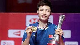 石宇奇首度打進年終賽冠軍戰便封王。(圖/翻攝自BWF官網)
