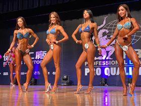 巴、日混血明模香月明美(左2)首度參賽拿下第2名。(圖/大會提供)