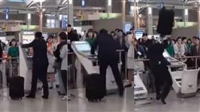 機場,check in,報到機,首爾,機器,歐爸,南韓,仁川,班機 圖/翻攝自YouTube http://youtu.be/gimeSjXHUOs