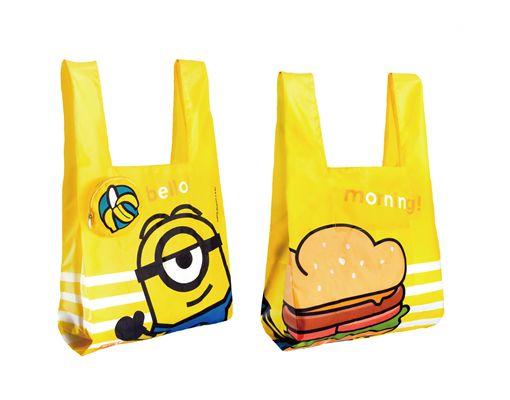 小小兵,早餐店,拉亞漢堡,小小兵袋著走,集點