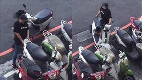 女騎士為停車連移3車/翻攝畫面