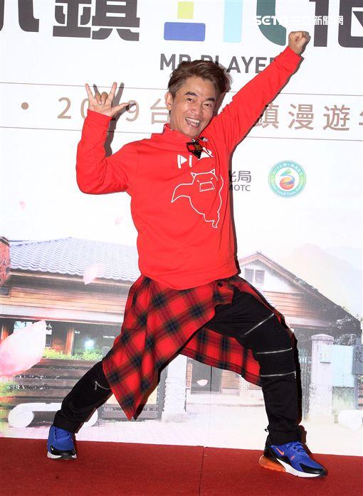 「綜藝玩很大」主持人吳宗憲。(記者邱榮吉/攝影)