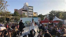 花博葫蘆墩婚紗秀(台中市政府提供)