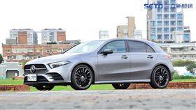 Mercedes-Benz A250。(圖/鍾釗榛攝影)