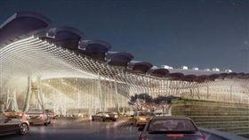 桃園機場第三航廈,桃機。(圖/翻攝自桃園國際機場臉書)