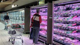 超市,賣場。(圖/記者馮珮汶攝)