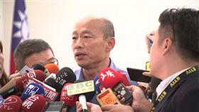 準高雄市長韓國瑜今(18日)以國民黨高雄市黨部主委身分前往市黨部開會,三立新聞