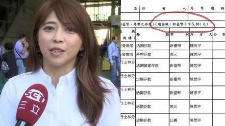 陳思宇 財產申報單 (圖/資料照、翻攝自李正皓臉書)
