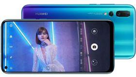 華為,nova4,螢幕,屏佔比,自拍極點全螢幕,前鏡頭