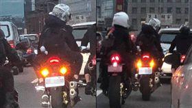 網友拍到白牌車上快速道路引發論戰。