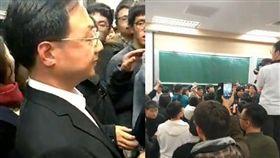 江宜樺,台大,演講,抗議,太陽花 圖/翻攝自臉書