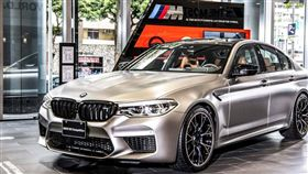 BMW M5 Competition(圖/車訊網)