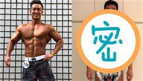 (圖/翻攝自李沛旭臉書)李沛旭,健身,健美賽,亞洲IFBB